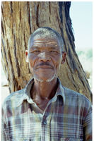 Piet Njaxob was one of several members of the San community identified during the genealogical research conducted during the ǂKhomani San Land Claim research process
