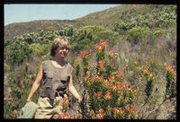Tisha Greyling in the Fynbos