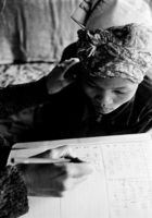 A girl learner