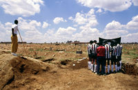 Funeral, South Africa, 1993