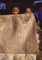 Children in the Kagga Kamma Nature Reserve