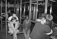 Arcade in Hillbrow, Johannesburg, South Africa