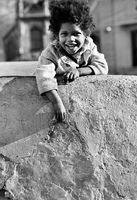 Young child, District Six, 1973