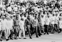 Fidel Castro, Cuba, 1980