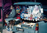 Street vendor, Johannesburg, 1974