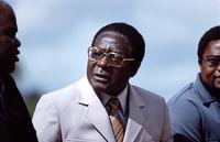 Robert Mugabe, Zimbabwe, 1980