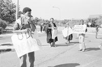 Anti-apartheid protest, Cape Town