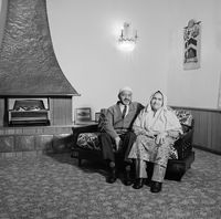Amina and Ebrahim Adam, 1996