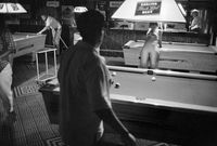 Playing pool, Johannesburg, South Africa