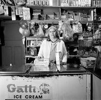 Local corner shop, Cape Town, 1996