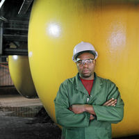 Tsepo Kgope, Leaching Plant, Base Metals Refinery, Springs, South Africa