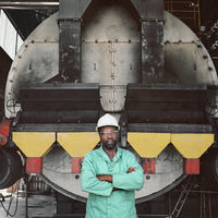 Titus Zulu, Steam boiler, Lonmin Mine, Marikana, South Africa