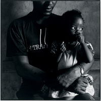 HIV positive Siphesihle Ntuli, with her father, Hlabisa, KwaZulu-Natal, South Africa