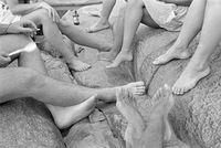 Feet of friends, Johannesburg, South Africa