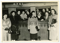 UCT Ballet depart on five week tour to Rhodesia in 1956.