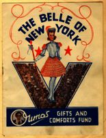 Belle of New York concert programme, 1944