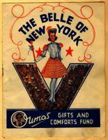 Belle of New York concert programme, 1944