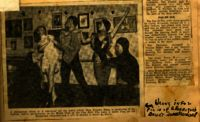 Newspaper clipping, 1939