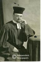 Portrait of Rabbi Israel Abrahams, Cape Town