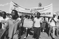 ANC Youth march, East Rand, 1990