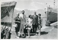 Breyten Breytenbach and his family, Cape Town