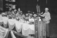 Mandela addressing COSATU, Johannesburg, 1993