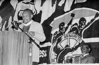 COSATU National Congress, Johannesburg, 1991
