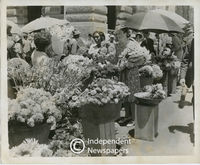 Flower sellers, Cape Town