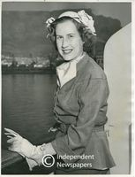Una Dönges, daughter of Dr. Dönges, Minister of the Interior, Cape Town