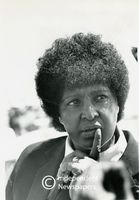 Portrait of Winnie Mandela, Cape Town