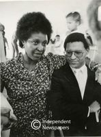 Winnie Mandela and Allan Boesak, Cape Town
