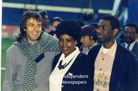 Winnie Mandela mingles with celebrities, Cape Town
