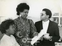 Winnie Mandela with Allan Boesak, Cape Town