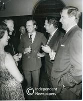 Chris Barnard with Rhodesian Prime Minister, Ian Smith, Cape Town