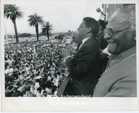 Allan Boesak and Desmond Tutu, Cape Town
