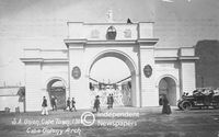 Cape Colony Arch, 1910, Cape Town