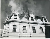 Winchester House on fire, Cape Town