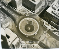 Aerial view, Foreshore fountain, Cape Town City