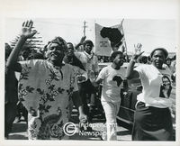 PAC funeral, Gugulethu, Cape Town