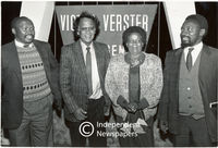 Delegation that met with Nelson Mandela in prison after the announcement of the release of political prisoners, Cape Town