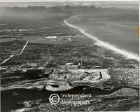 Aerial view of Marina Da Gama, Cape Town