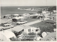 Caravan park at Miller's Point, Cape Town