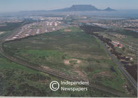 Aerial view of Du Noon near Milnerton, Cape Town