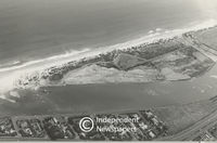 Aerial view of Woodbridge Island in Milnerton, Cape Town
