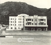 The closing down of hotels, Cape Town