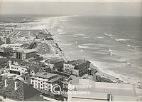 Aerial view of Muizenberg, Cape Town