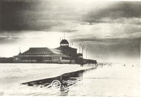 Bathing Pavilion in Muizenberg, Cape Town