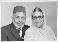 Founder member of the Habibis Institute and his wife, Cape Town