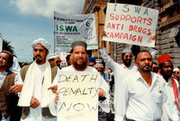 ISWA members protest, Cape Town