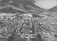 Aerial view of Observatory, Cape Town